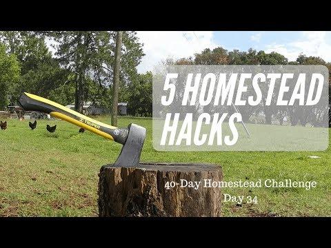 Top 5 Homestead Hacks - The Modern Homesteader