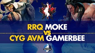 RRQ Moke (Rashid) VS CYG AVM GamerBee (Necalli) - Canada Cup 2019 Pools - CPT 2019