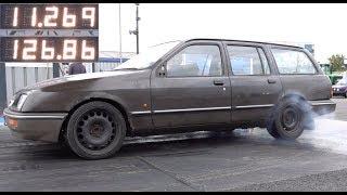Cosworth Powered Ford Sierra Estate SLEEPER - 11.26 @ 126mph