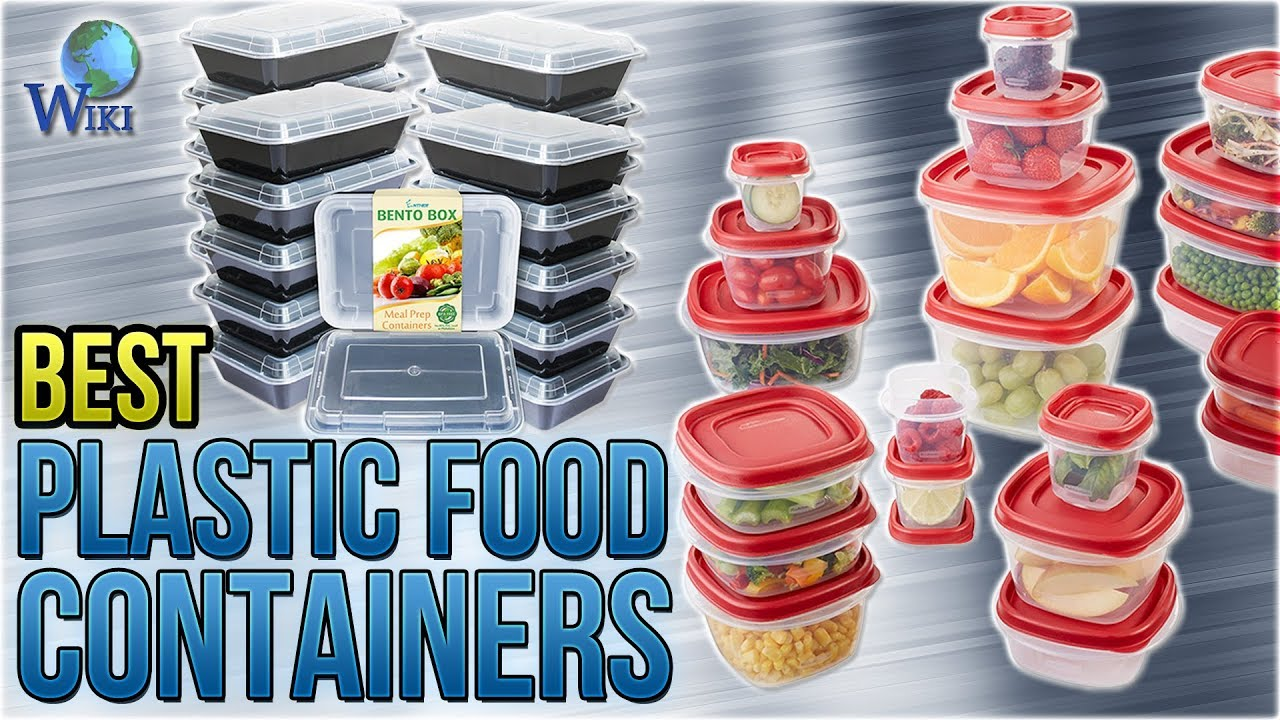 10 Best Plastic Food Containers 2018 YouTube