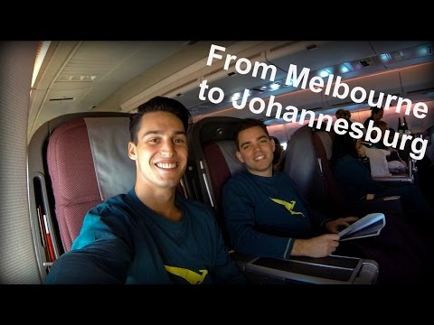From Melbourne to Johannesburg | South Africa - VLOG #1