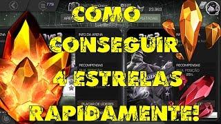 (FARM) COMO CONSEGUIR 4 ESTRELAS RAPIDAMENTE - Marvel Torneio De Campeões