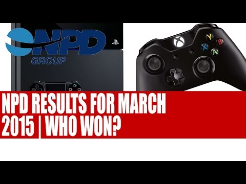 NPD Group Hardware & Software Sales For March 2015 | PS4 & Xbox One Sales