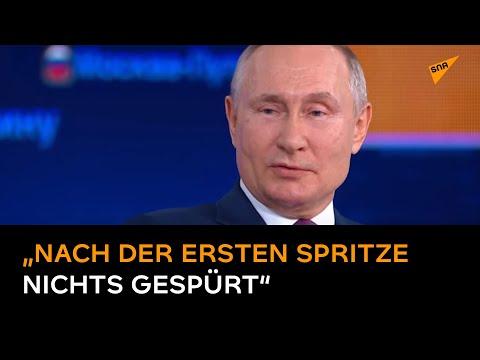 Putin über seine Impfung