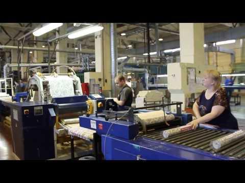 Фабрика обоев Элизиум в Бердске