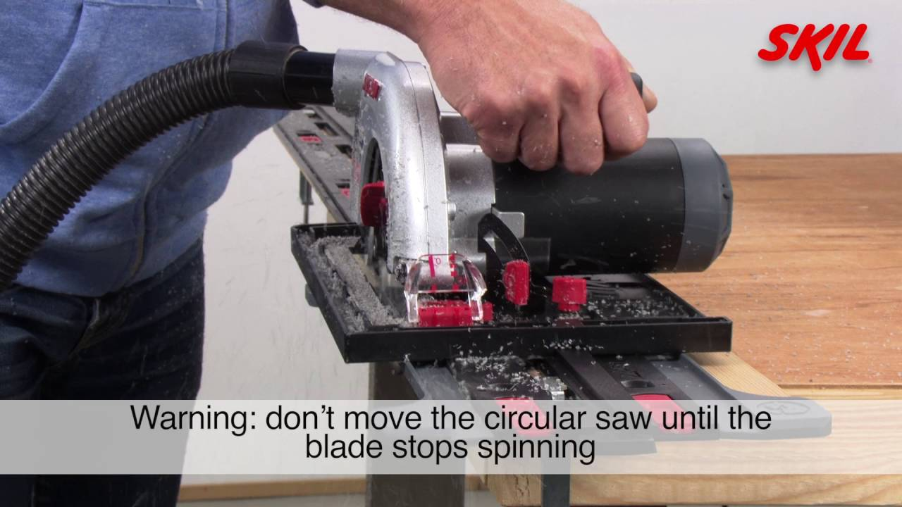 How to use the skil saw guide with a circular saw youtube how to use the skil saw guide with a circular saw greentooth Choice Image