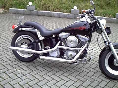 Frank Ks Harley Davidson Softail Evo Standard Bj 99 I