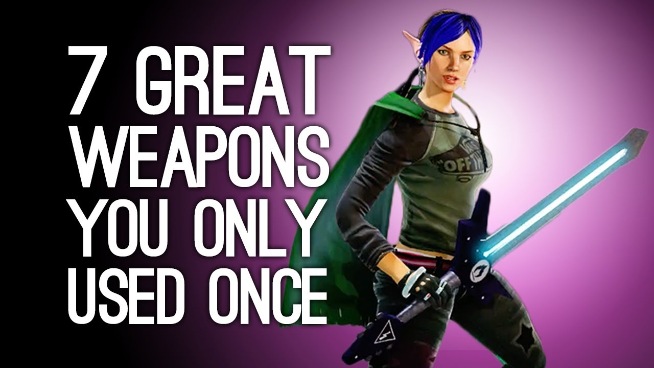 7 Greatest Weapons You Only Got to Use Once