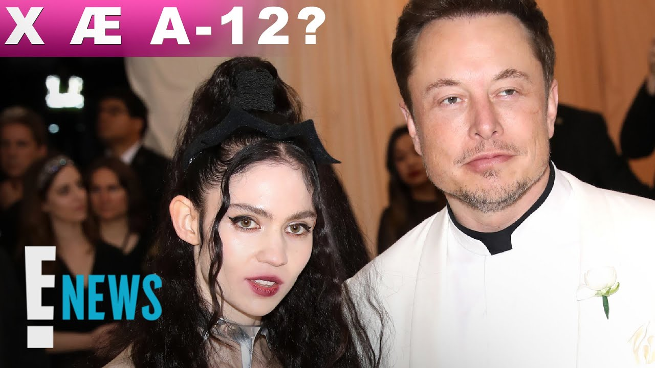 Elon Musk and Grimes Named Their Baby X  A-12. Here's the ...
