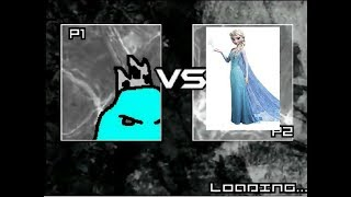 Ice King (Adventure Time) Vs.  Elsa (Frozen) | LEGENDARY BATTLES #396