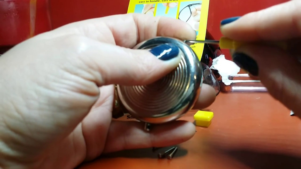 Snapit EyeGlass Repair Kit w/ Long Easy Fit Screws & Micro