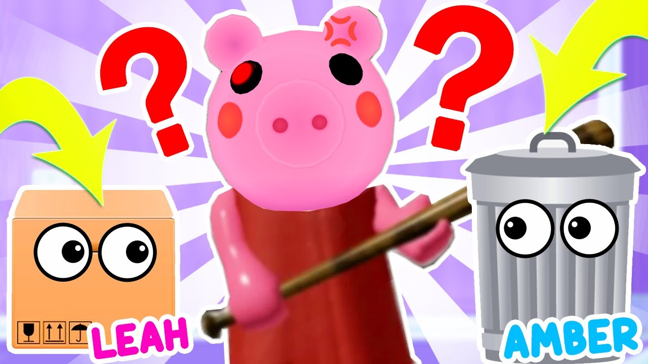 We Played HIDE AND SEEK To TRICK PIGGY In Roblox... Roblox Piggy