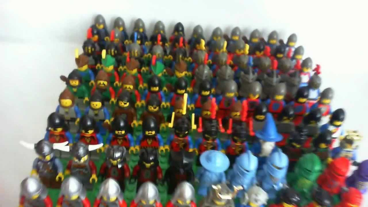 Lego fantasy era crown knight scale mail with crown breastplate - I Got A Package 48 100 Minfigures