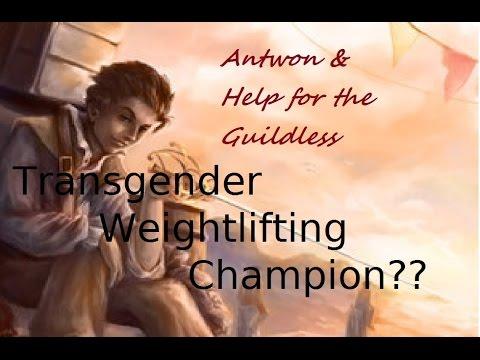 HftG: Transgender Weightlifting Champion?
