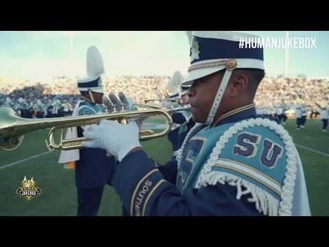 Southern University Human Jukebox Homecoming 2019 Halftime Show
