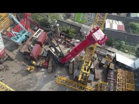 宏江/宗宜重機械LIEBHERR LTR 1800空拍紀錄