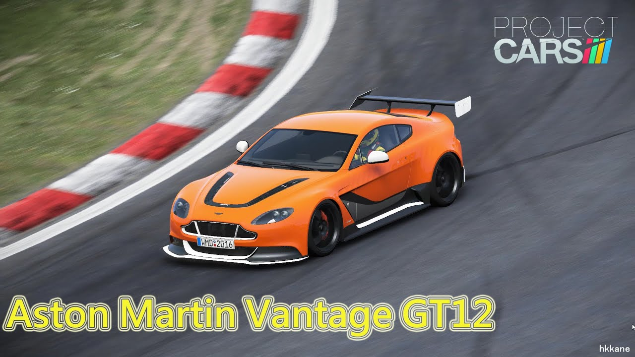 Project CARS Aston Martin Vantage GT12 Gameplay  YouTube