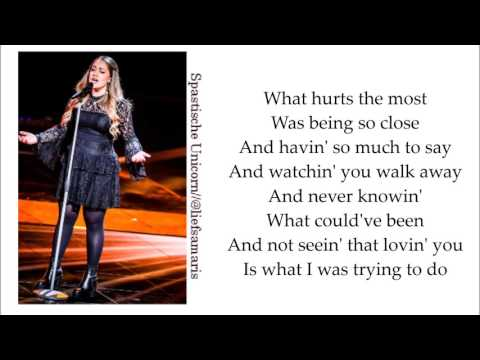 Pleun Bierbooms - What Hurts The Most Lyrics