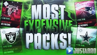 MOST EXPENSIVE PACKS EVER! OVER 1M A Pack! Madden Mobile 17