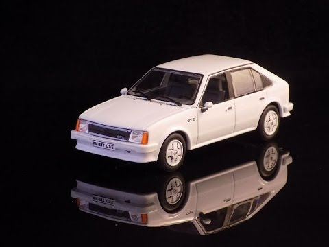 opel kadett d gte 1982 scale 1 43 youtube. Black Bedroom Furniture Sets. Home Design Ideas