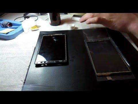 Ремонт смартфона Lenovo A706, замена тачскрина (сенсорного стекла .