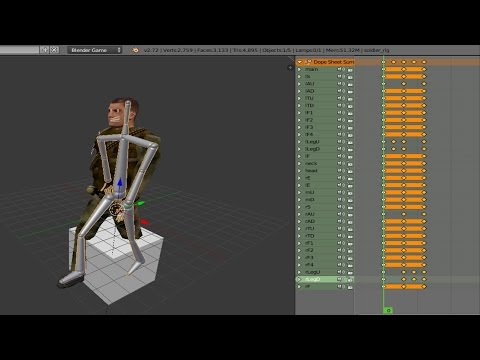 Animation in the Blender Game Engine