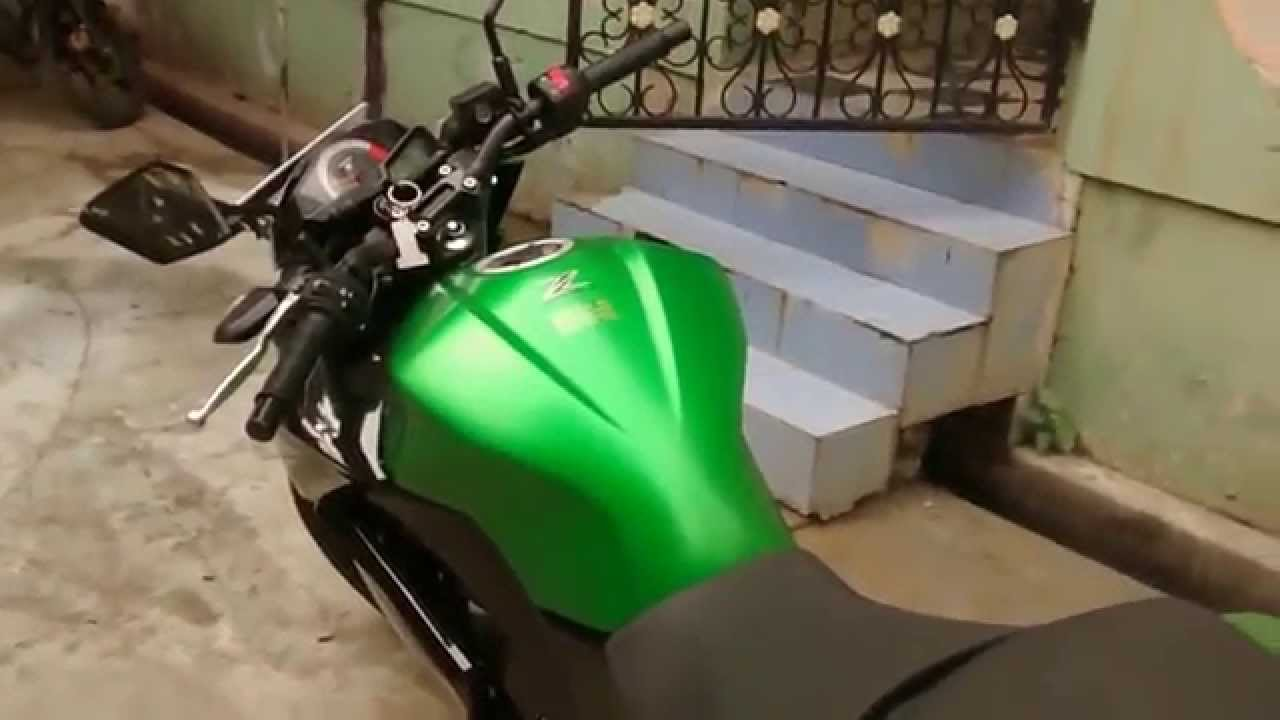Kawasaki Ninja Z 250 R In Vijayawada Youtube