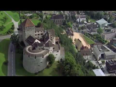 Fürstentum Liechtenstein - Flugaufnahmen
