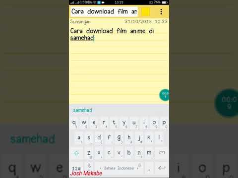 Cara download film di layarkaca21 lewat android youtube.