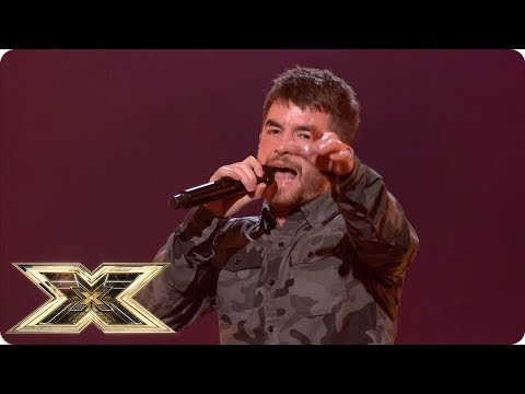Anthony Russell sings Don't Look Back In Anger | Live Shows Week 6 | X Factor UK 2018
