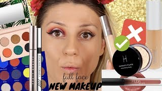 FULL FACE NEW MAKEUP - FIRST IMPRESSIONS! || GIO DREVELI ||