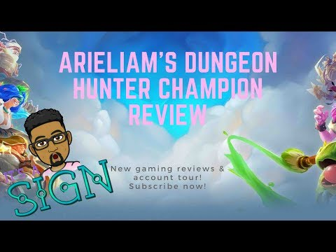 Dungeon Hunter Champions: Account Tour - Arieliam