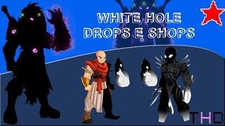 【AQW】Shops e Drops do Evento de WhiteHole (2016)