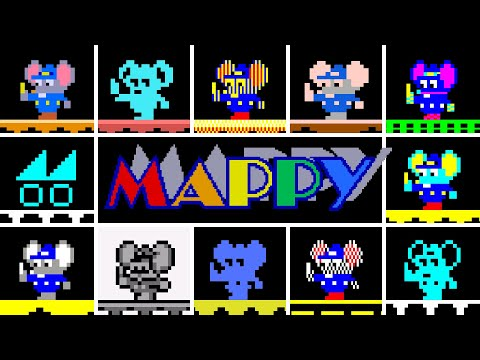 Mappy - Versions Comparison - 6TH WILL BLOW YOUR MIND!!