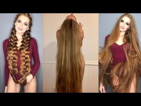 Real Life Rapunzels - Extremely Long Hair Girls of Instagram and Musical.ly