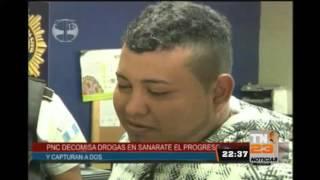PNC incauta drogas en Sanarate El Progreso