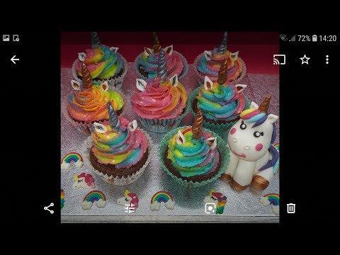 tuto-cupcakes-licorne!!!🦄🌈-buttercream-trop-facile!