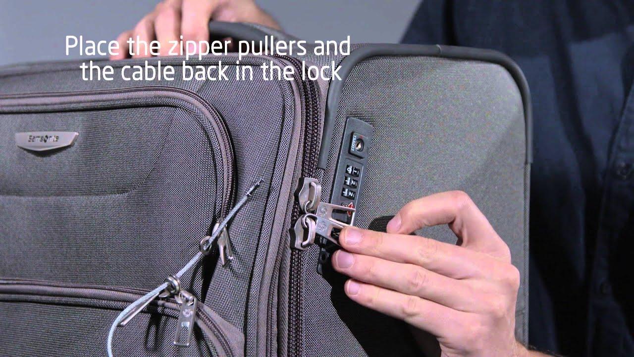 Samsonite Lock Instructions Youtube