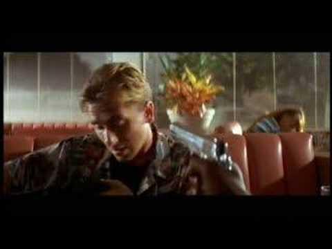 Pulp Fiction Bad Mother wallet restaurant scene Jules