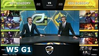 Video OpTic Gaming Academy vs Golden Guardians Academy | Week 5 Academy League Spring 2018 | OPTA vs GGSA download MP3, 3GP, MP4, WEBM, AVI, FLV Juni 2018