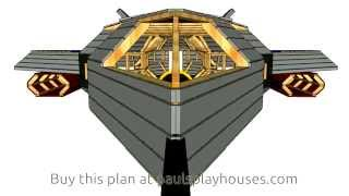 F-22 Playhouse Plan Virtual Tour