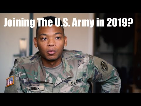 What Happens When You Join The U.S. Army In 2019?