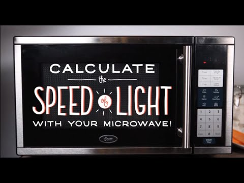 How To Calculate The Speed Of Light With Your Microwave