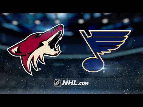 Coyotes ride four-goal 1st to win against Blues