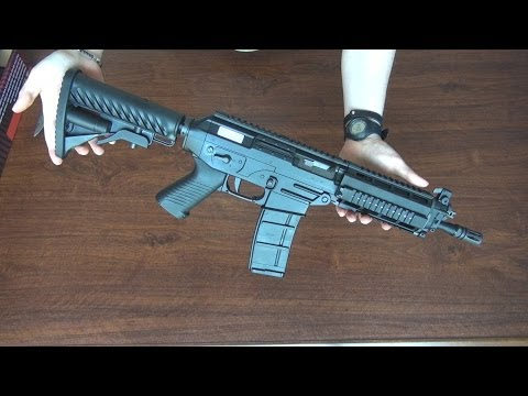 (Airsoft) Unboxing The Sig 556 king arms (shorty RAS version)