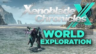 Xenoblade Chronicles X - Exploring the World