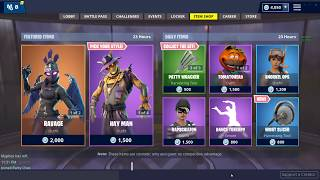 RAVAGE & STRAW OPS SKINS! (Fortnite Item Shop 14th November)