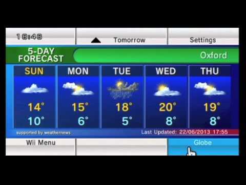 Wii Internet channels: News, Weather, Mii Contest