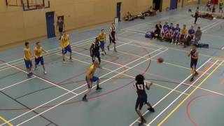 21 januari 2017 HBV The Jumpers U22 vs Rivertrotters U22 53-57 3rd period