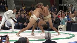 2018 US SUMO OPEN - Lightweight Highlights